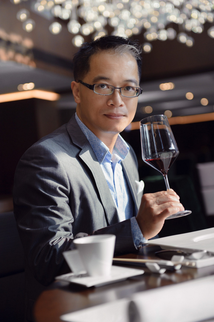 Peter Kwong, wine educator, judge, columnist and sommelier