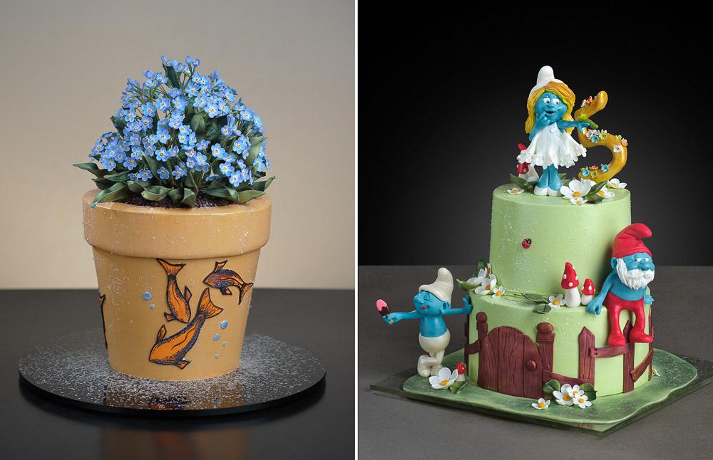 Удивительные торты SELECT Cake Studio