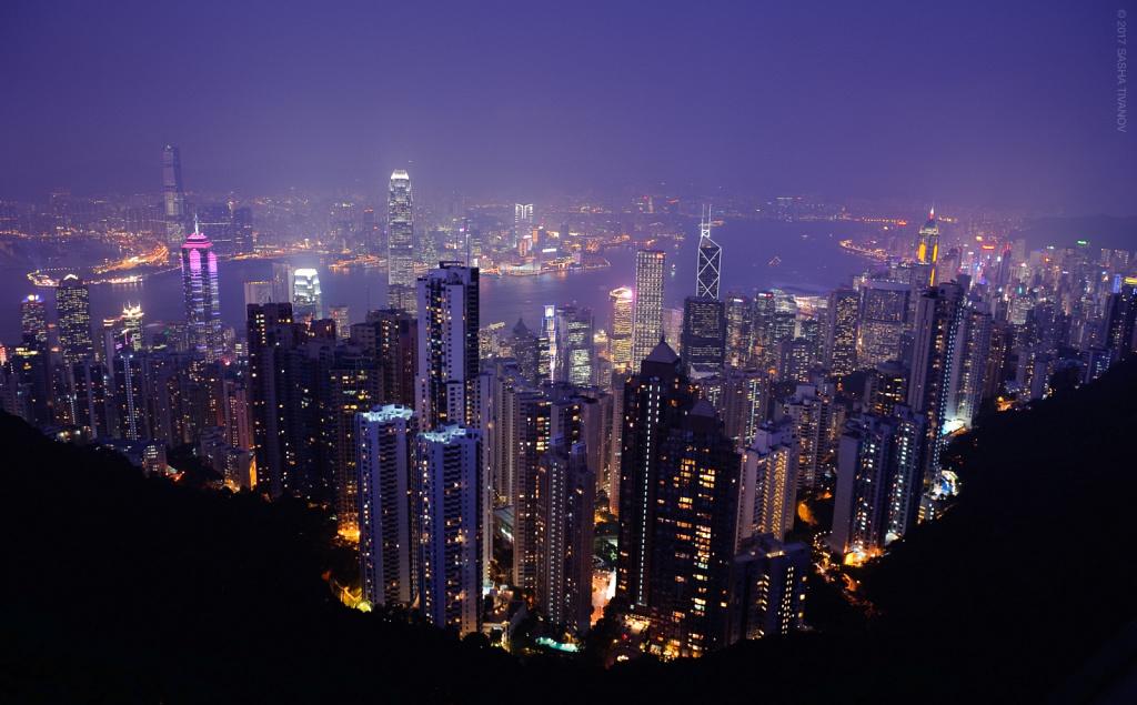 Гонконг, пик Виктории