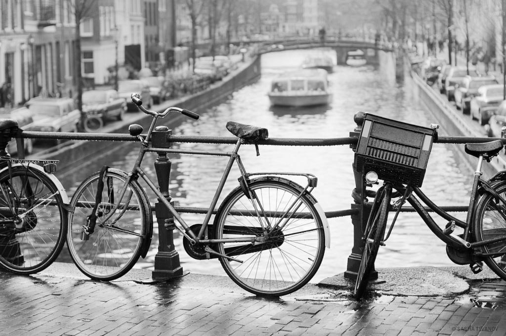 На улице Амстердама