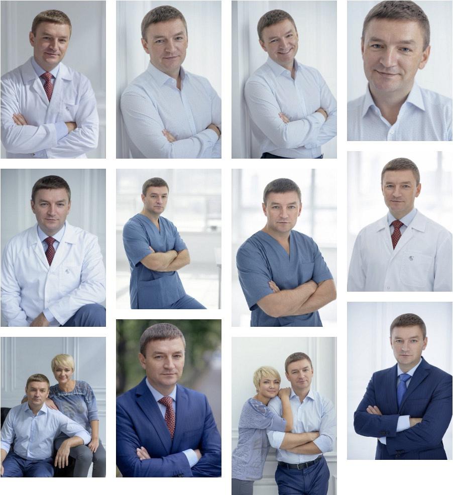 Портрет врача-хирурга