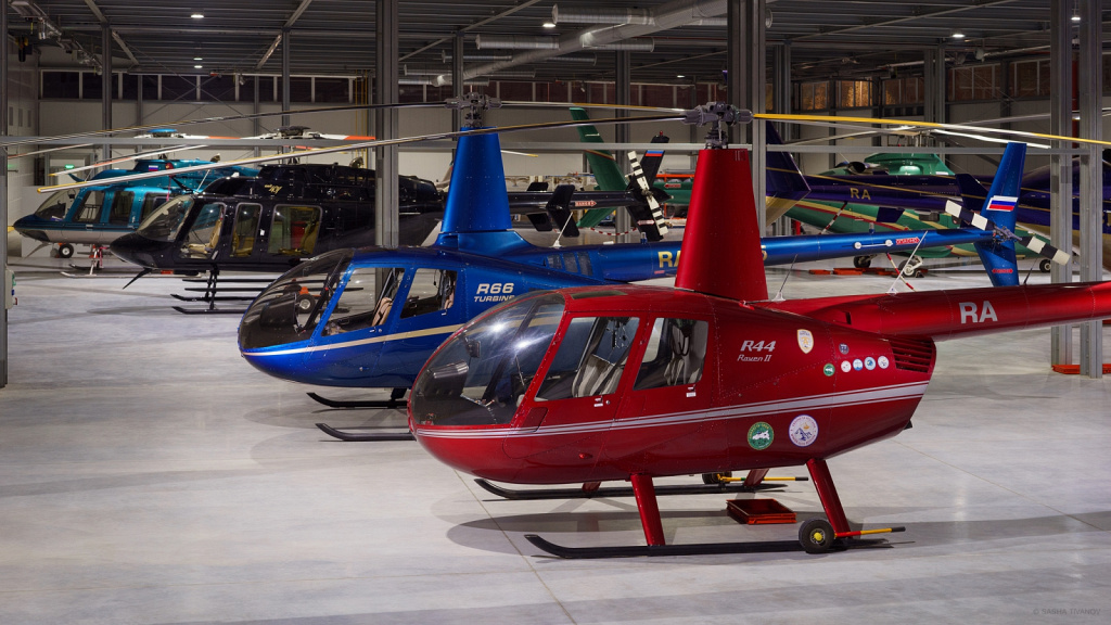 Вертолёты Robinson