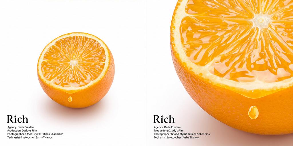 Rich Orange Juice Апельсиновый сок
