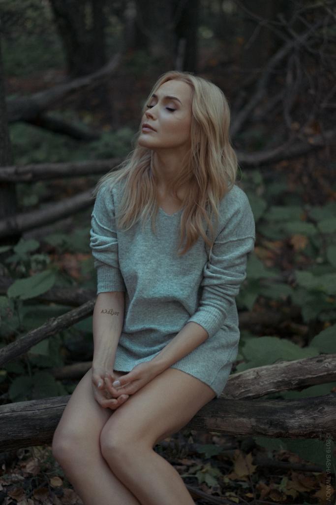 Ksenia Artistic Portrait