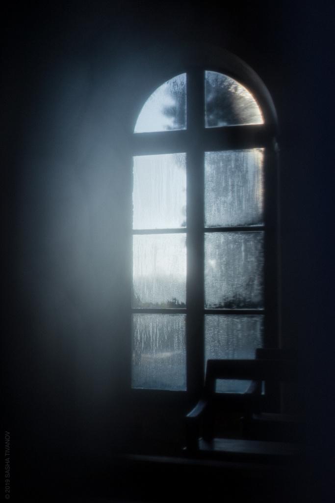 Запотевшее окно