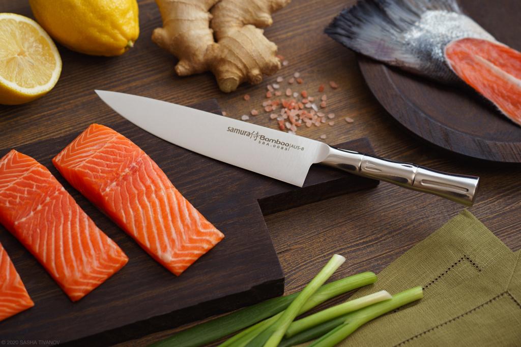 Шеф-нож Samura Bamboo