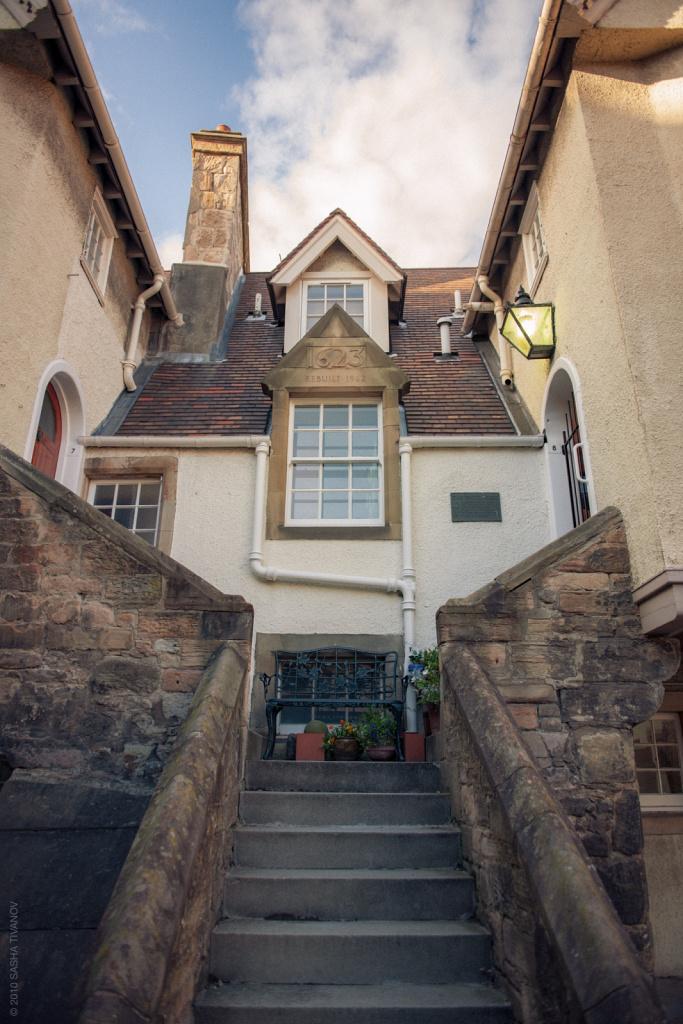 Старый дом в Эдинбурге